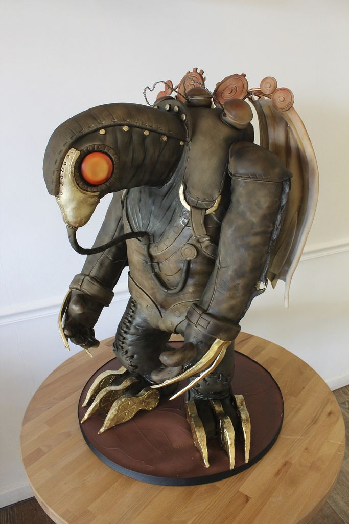 Bioshock Infinite Songbird Sculpted Cake - Oakleaf Cakes, Boston