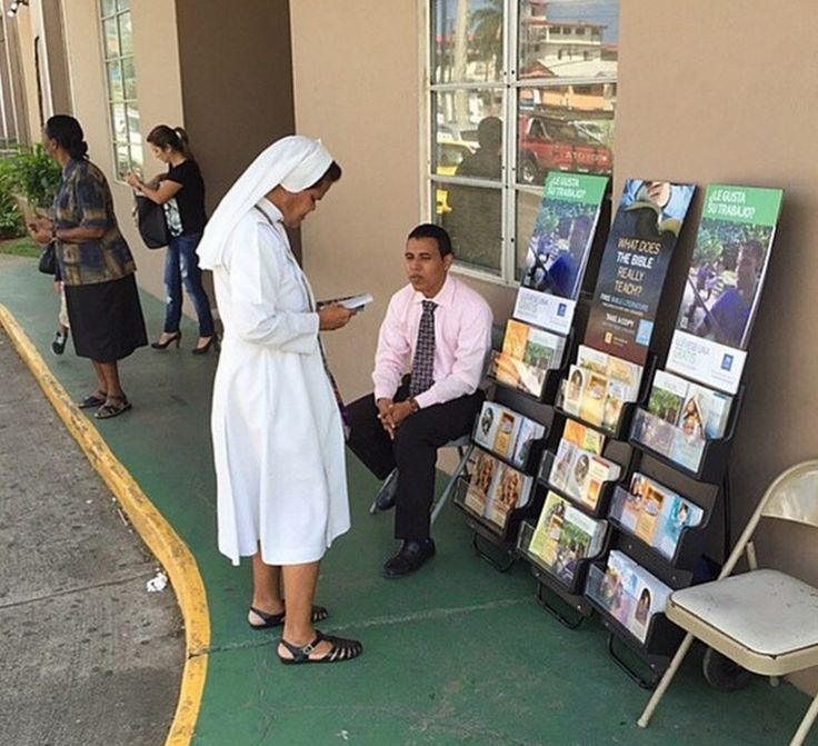 Public witnessing | Panama City