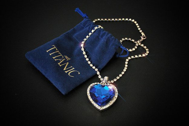 Heart of the Ocean Necklace (Titanic) $24.99 | Community Post: 14 Affordable Gifts For The Movie Buff In Your Life