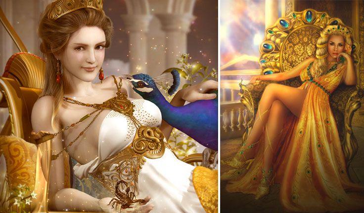 Greek Mythology Top 10 Badass Gods And Goddesses Hera