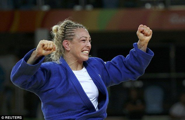 Team GB judo star Sally Conway has won bronze after defeating Austrian Bernadette Graf