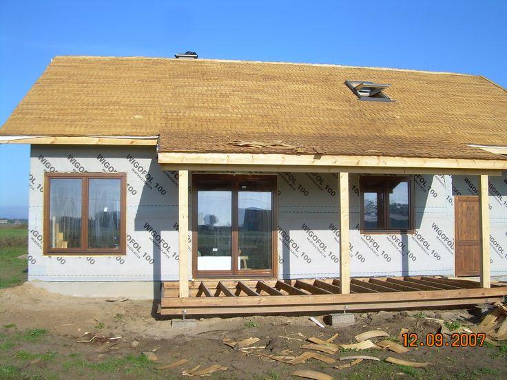 Projekt domu Modrzewiowy