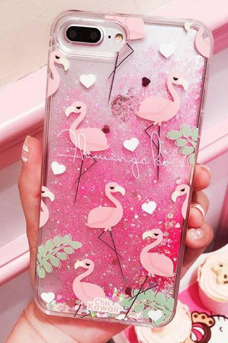 be625da1ec Flamingo iPhone 6, iPhone 6 Plus, iPhone 7, iPhone 7 Plus, iPhone 8, iPhone  8 Plus,iPhone X protective Case For cute girl