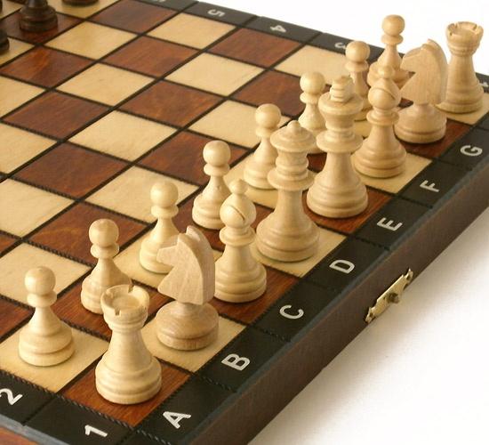 【ポーランド製】木製チェスセット COMPACT 26cm - チェスと輸入玩具の専門店 TenStone