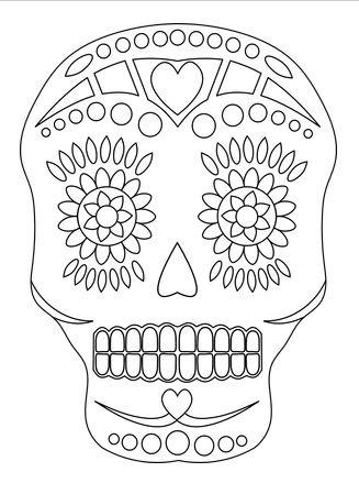 1000+ images about Sugar skulls on Pinterest   Sugar skull ...