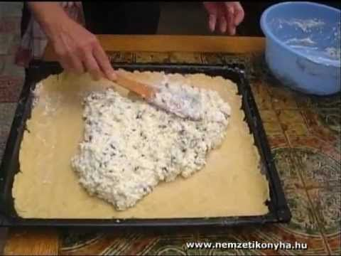 Túrós pite -Cottage cheese pie-Hüttenkäsetorte - YouTube
