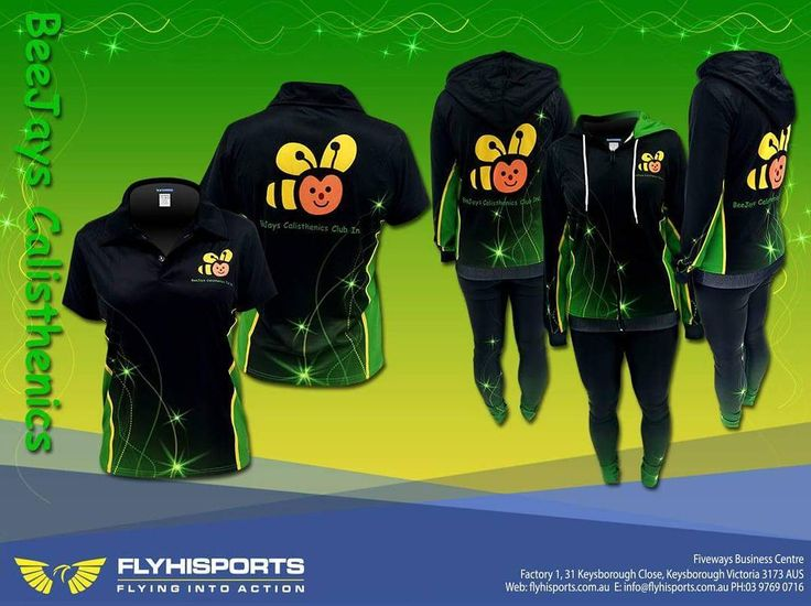 Beejay's Calisthenics Club new merchandise #calisthenics #calasthenicsvic #bees #cute