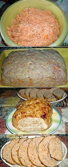 Как приготовить мясной хлеб - рецепт, ингридиенты и фотографии