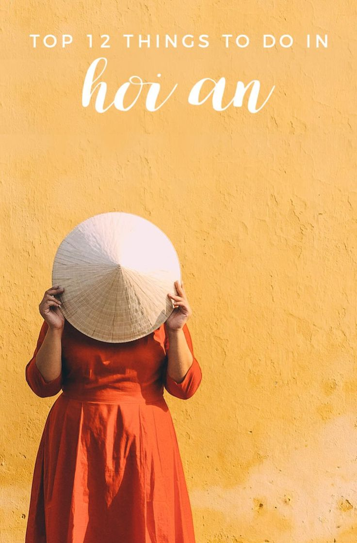 Hoi An, Vietnam is a must-see if you're traveling the country! While it's most known for its tailors and lanterns, there are a lot more things to do in Hoi An! Here are our top 12 + some travel tips for your visit.