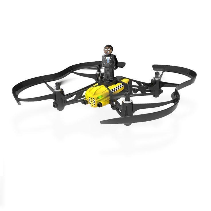 Parrot Mini Drones - Airborne Cargo - TRAVIS  Mini-sized quadcopter met afneembaar poppetje.  EUR 99.00  Meer informatie
