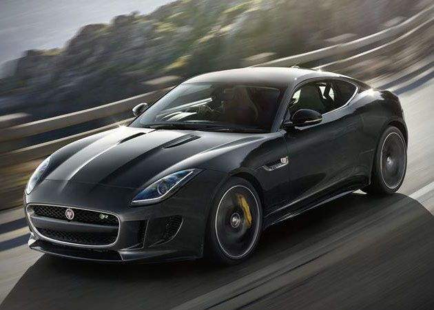 Jaguar Debuts Beautiful F Type R Coupe