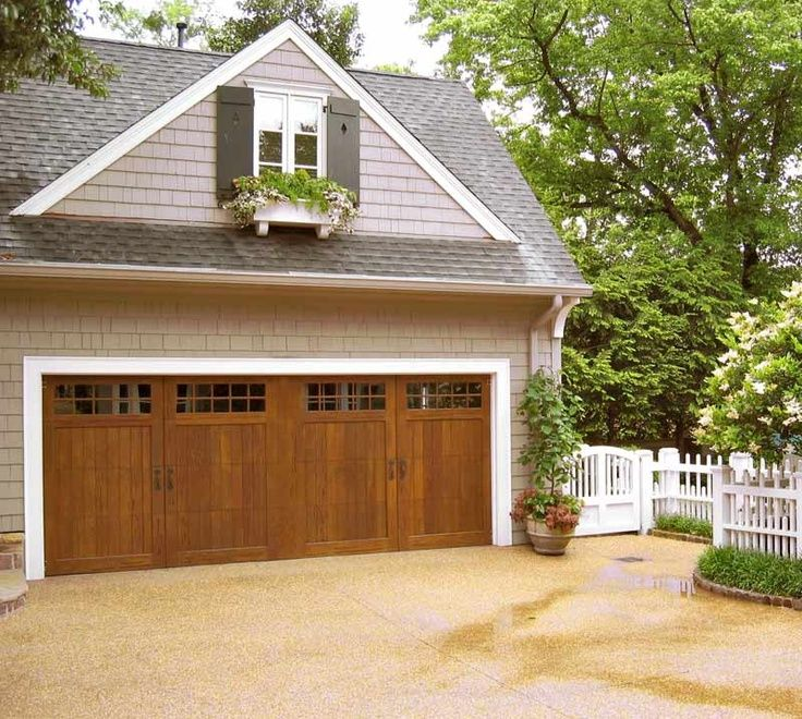 111 best home exterior ideas images on pinterest for Commercial garage plans