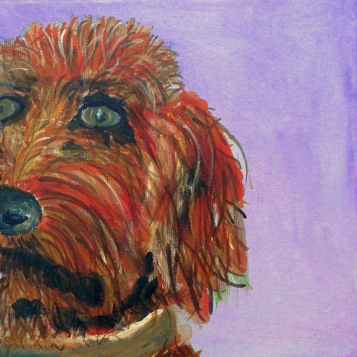 Golden Doodle print, dog art, goldendoodle print, dog lover gift, golden doodle art, doodle art print, doodle painting, dog print by CarolineSkinnerArt on Etsy. Repin for later