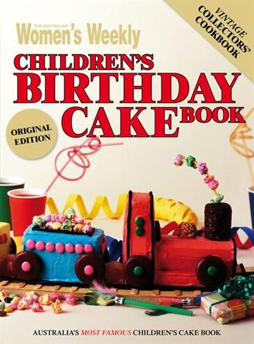 Without a doubt, in my opinion the best cookbook ever written is the Women's Weekly Children's Birthday Cake Book: