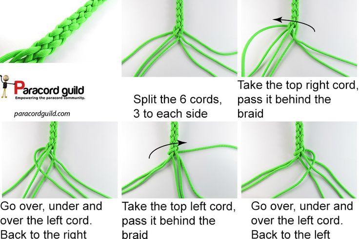 6 STRAND ROUND BRAID - Paracordguild.com