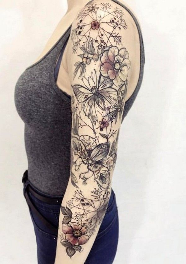 There Is Something Magical And Attractive About Sleeve Tattoos For Women They Make Ladie Cool Half Sleeve Tattoos Sleeve Tattoos Tattoos For Women Half Sleeve