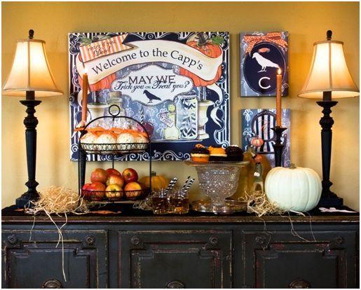 37 best Halloween images on Pinterest Dia de, Halloween - halloween house decorating ideas
