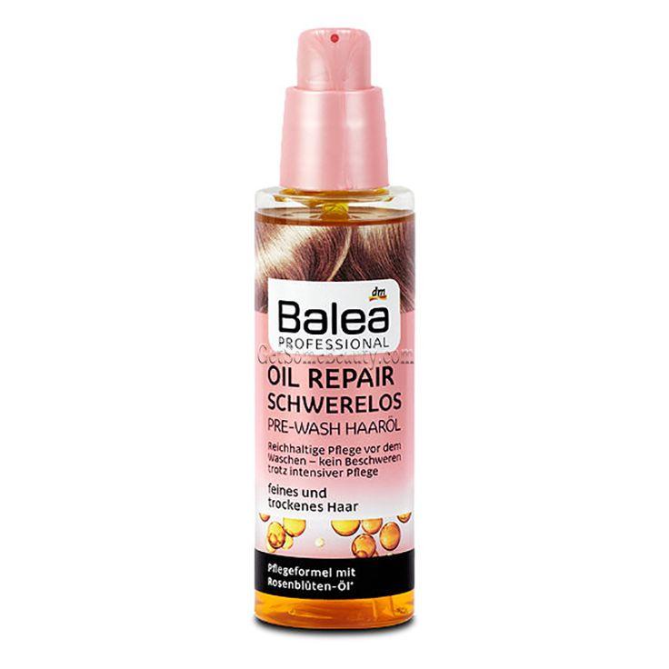 Balea Professional Oil Repair Weightless Pre-Wash Hair Oil 100 ml