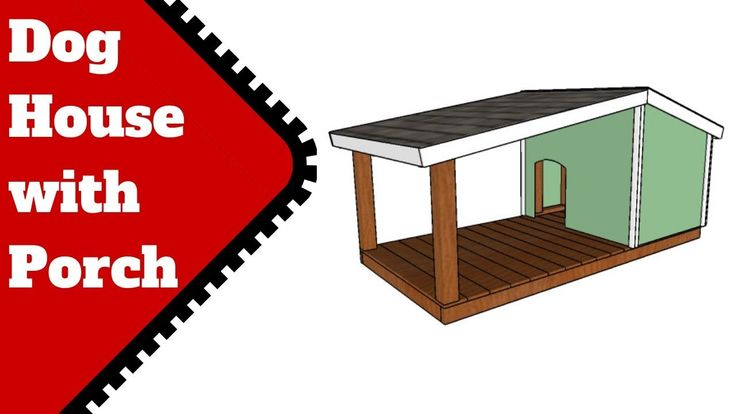 Do It Yourself Home Design: Dog House Plans With Porch