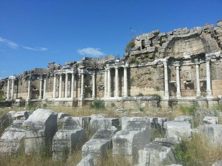 Side, Turkey - Apollo Temple