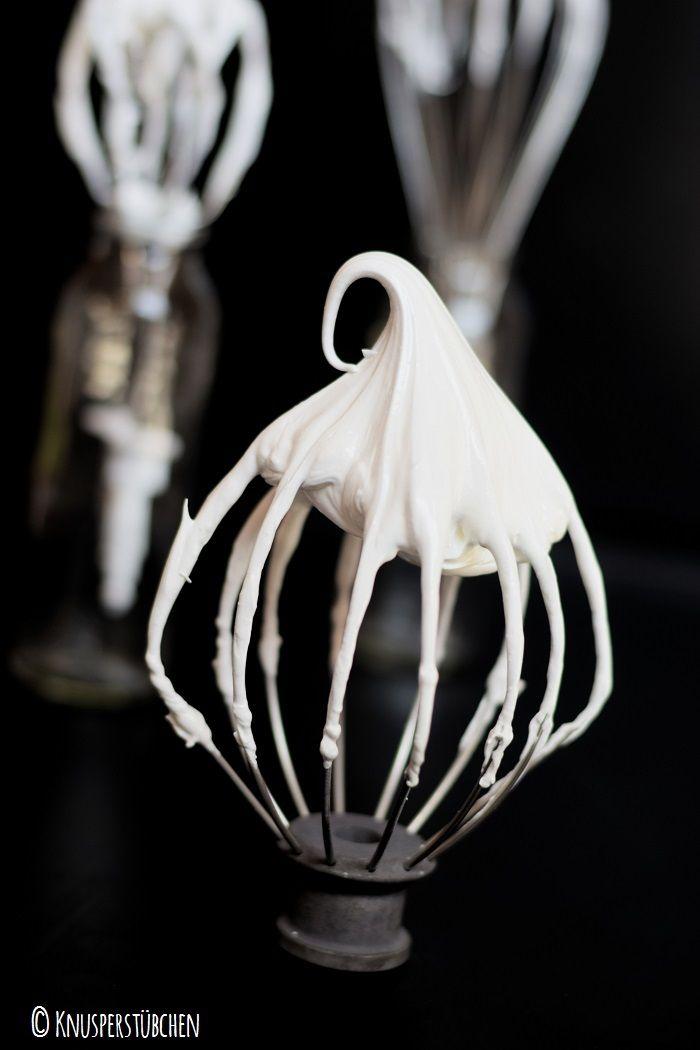 Meringue Roulade und Tipps zur Baiser Herstellung | Das Knusperstübchen