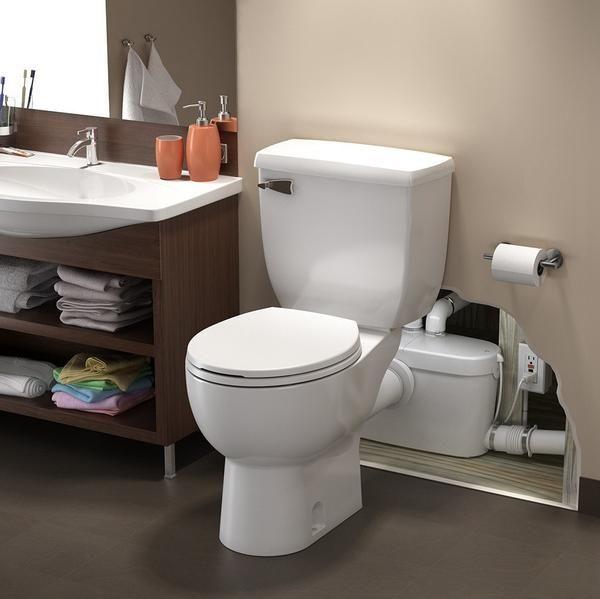 Upflush Toilet - SaniACCESS 3: Upflush Toilet Kit