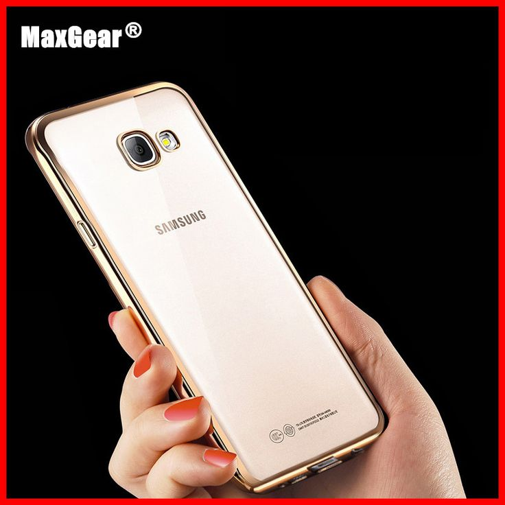 Ultrathin Electroplating TPU Soft Protective Back Cover Phone Cases For Samsung Galaxy A3 A310 A5 A510 A510F A7 A710 A710F 2016
