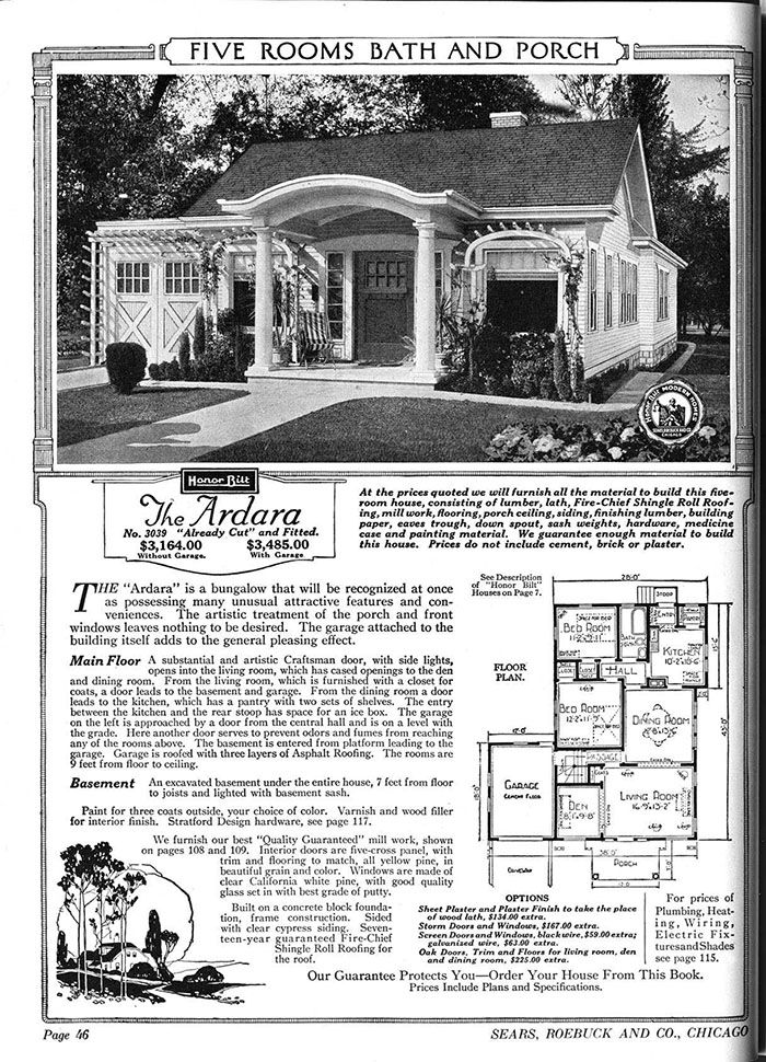 People Used To Order Sears Home Kits From A Catalog In The Early 1900s And Some Are Still Standing Today Sears Catalog Homes Vintage House Plans Kit Homes