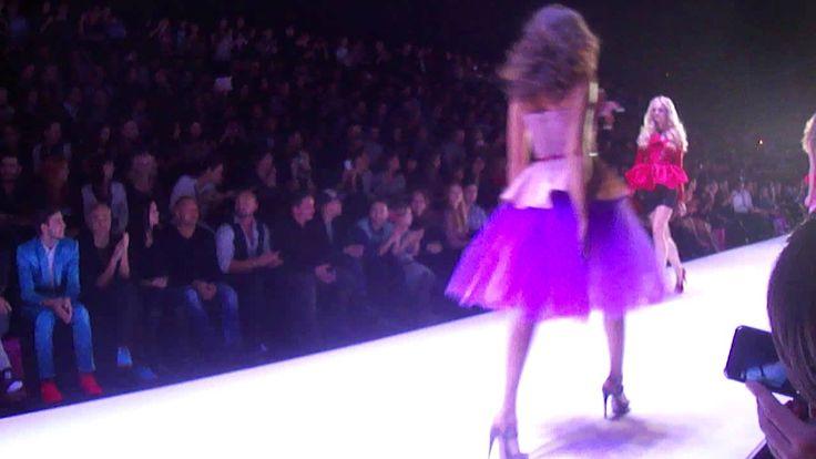 Dasha Gauser for Barbie на Mercedes-Benz Fashion Week Russia