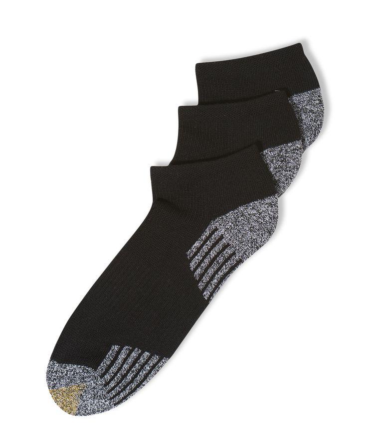 Gold Toe Socks, 3-Pack G Tech Sport Outlast No Show Socks