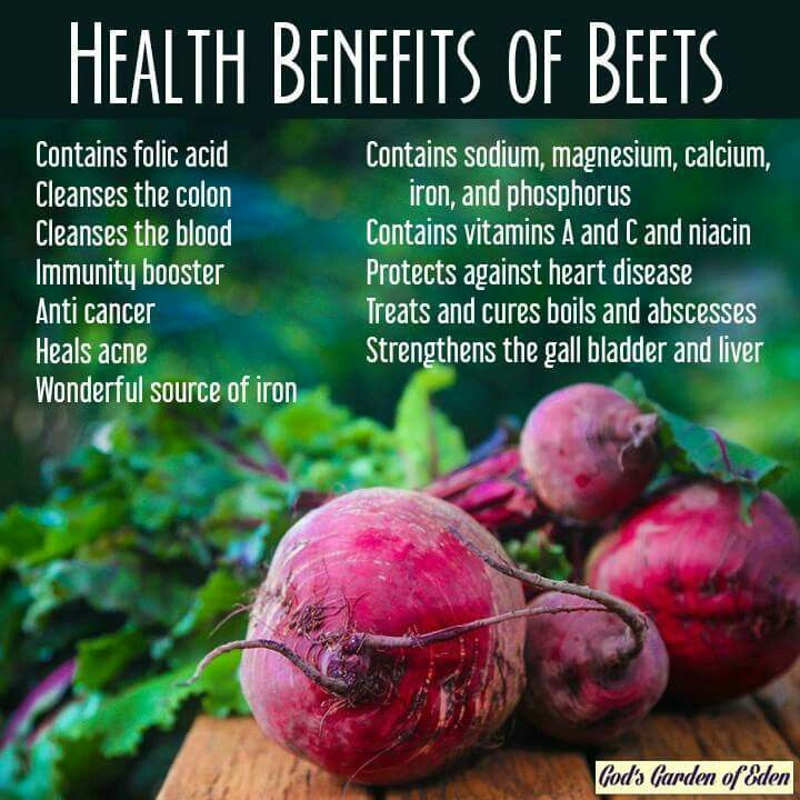 Beets health I love beets in my green smoothies. Beets take away that green blended up frog look ;p