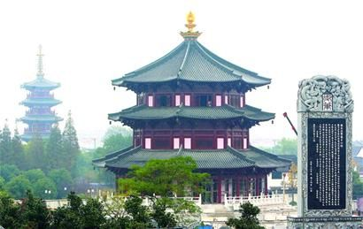 "Built in 502, Hanshan (Cold Mountain) Temple earned its fame from a line composed by the Tang poet Zhang Ji: ""Beyond the Suzhou walls, the Temple of Cold Mountain tolled its bell, which broke the midnight still and signalled the arrival of a gust's boar."