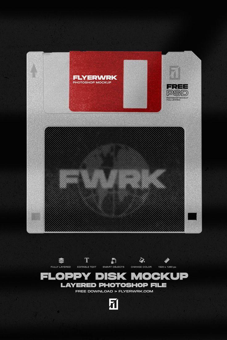 Floppy Disk Photoshop Mockup Free Download Photoshop Mockup Free Floppy Disk Photoshop Mockup