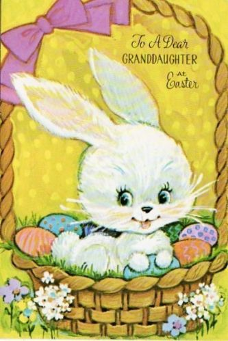 17 best images about vintage easter greeting cards on for What day does easter fall on this year