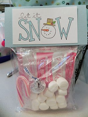 Snowman Soup DIY... make these, let the kids color them, and give them to the church members as gifts? hmm