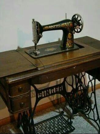 I sewed on a White treadle until I graduated from college. Made most all of my clothes since freshman in high school, including prom dresses. Then electric machine for wedding dress, bridesmaid dresses, children's clothes, home decor, etc.