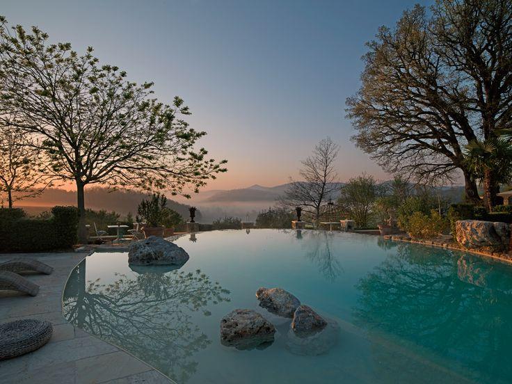 Borgo Santo Pietro, Tuscany.  Pool http://www.mrandmrssmith.com/luxury-hotels/borgo-santo-pietro