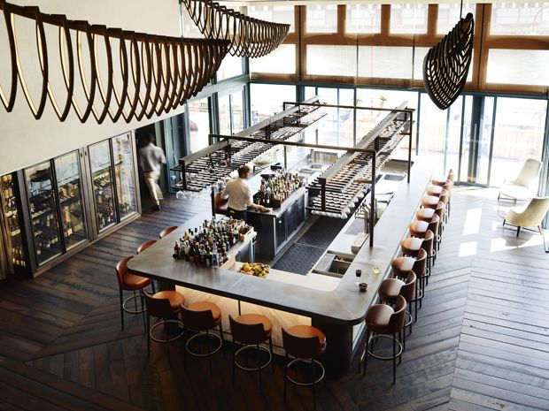 Bates Smart injects local maritime history into luxury fit-out at Sydney Pier One hotel | Architecture And Design