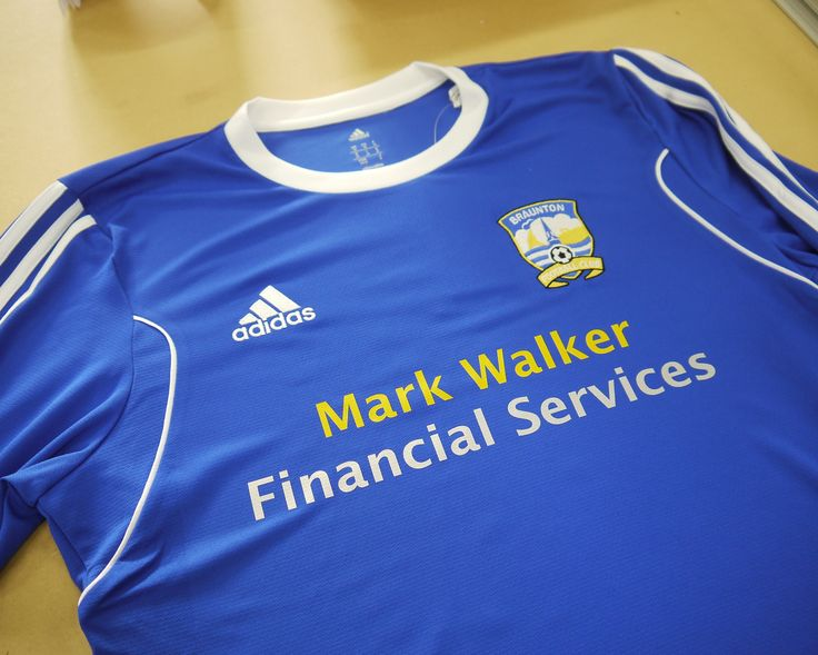 Braunton FC Football shirt #Braunton #Embroidery #Printing #personalisation