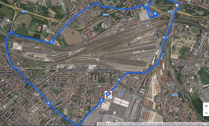 via roveggia,29/stazione fs porta nuova/via albere,118/via po/via roveggia 44:  https://www.google.com/maps/d/edit?mid=zqOydDGyDD50.kWGDgEbGkKyw
