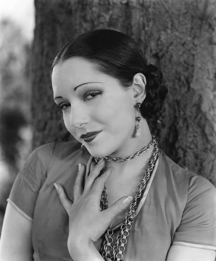María Guadalupe Villalobos Vélez (July 18, 1908– December 13, 1944), known professionally as Lupe Vélez. She began her career in Mexico as a dancer in vaudeville, before moving to the U.S. Vélez soon entered films, making her first appearance in 1927 in the film The Gaucho. By the end of the decade she had progressed to leading roles. She worked with film directors like D.W. Griffith, Cecil B. DeMille, Victor Fleming and William Wyler among others.