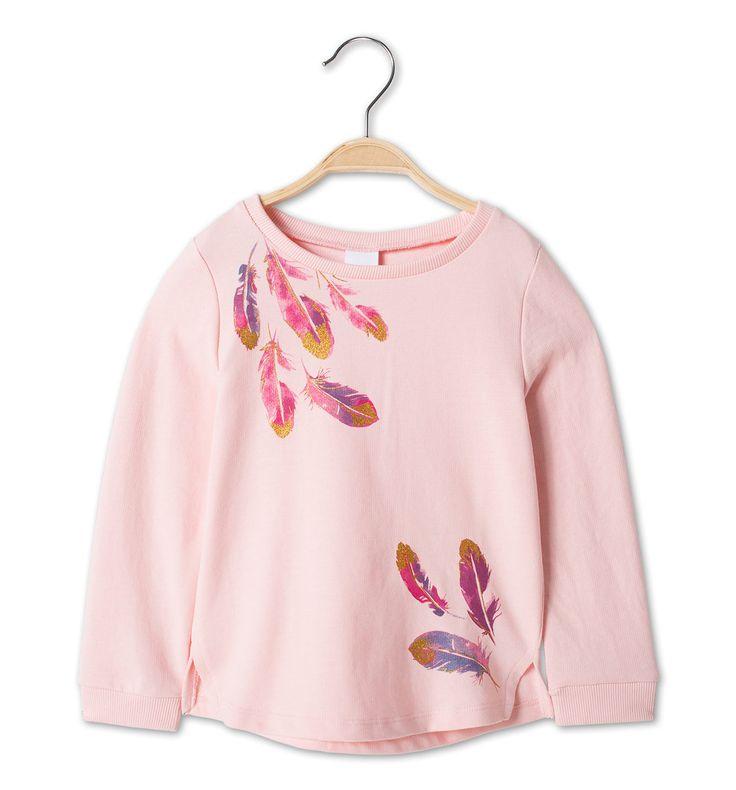 Sweatshirt in roze