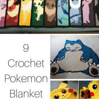 9 Crochet Pokemon Blanket Patterns