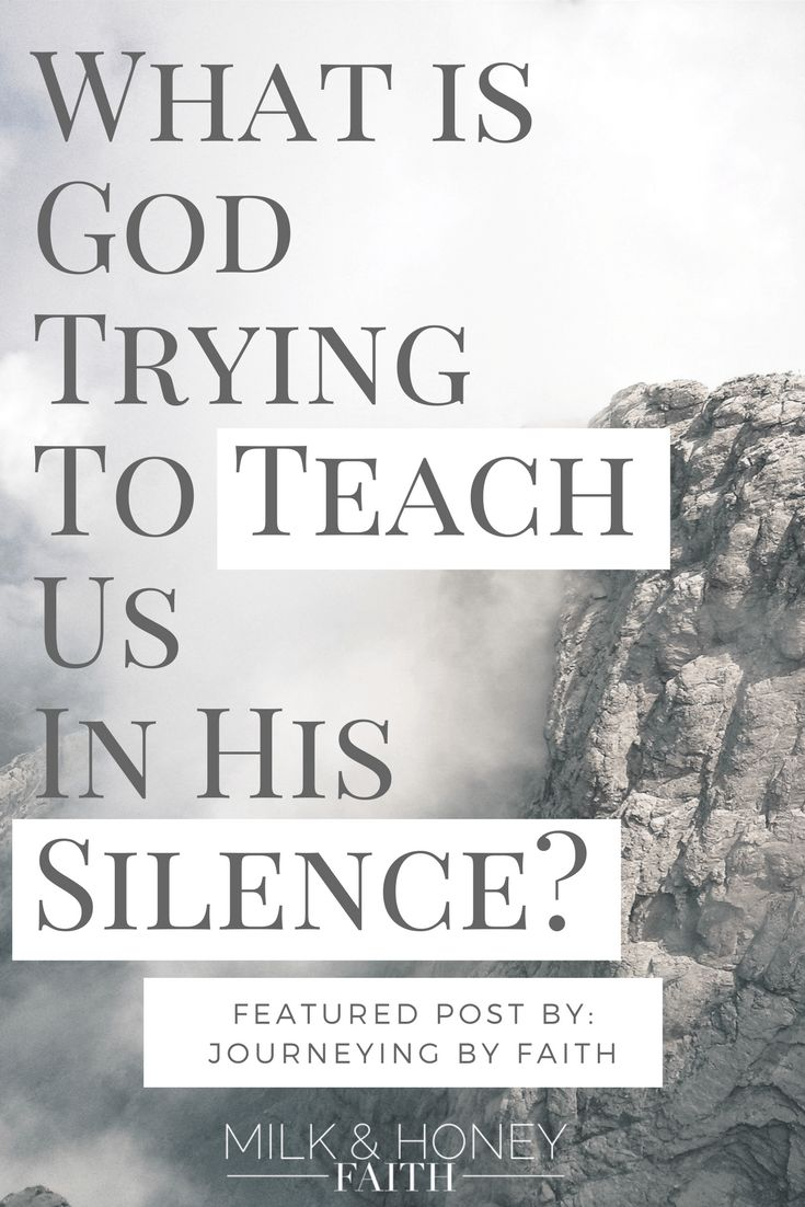 It is true that there is power in prayer but what happens when you feel like your prayers have gone unheard and God is being silent?  Is He trying to teach us something?  Check out this featured post at Salt and Light Linkup to learn the valuable truth about God's silence.  #saltandlightlinkup #prayers #christianblogger