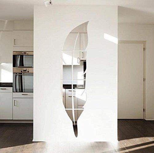 17 meilleures id es propos de stickers miroir sur for Miroir plume