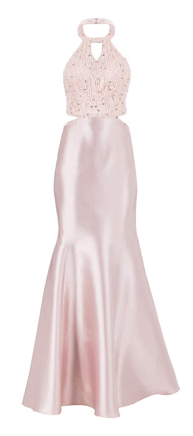 Vestido Frente Única Com Bordado Milas | Dolps