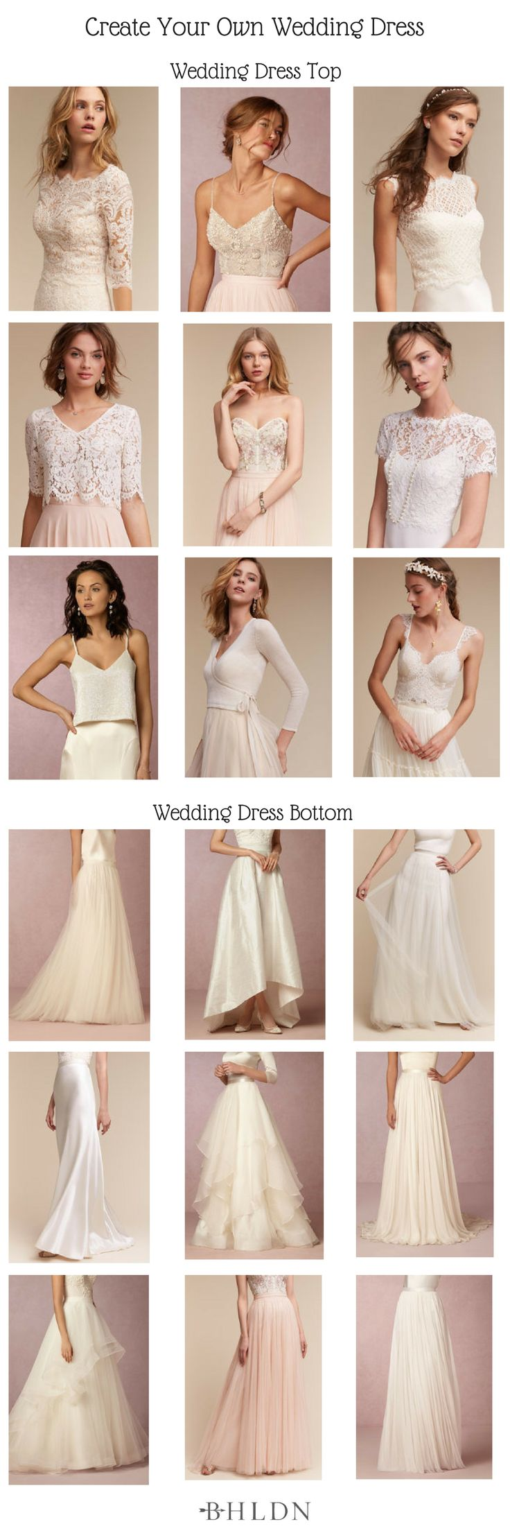 Best 25  Wedding dress separates ideas on Pinterest | 2 piece ...