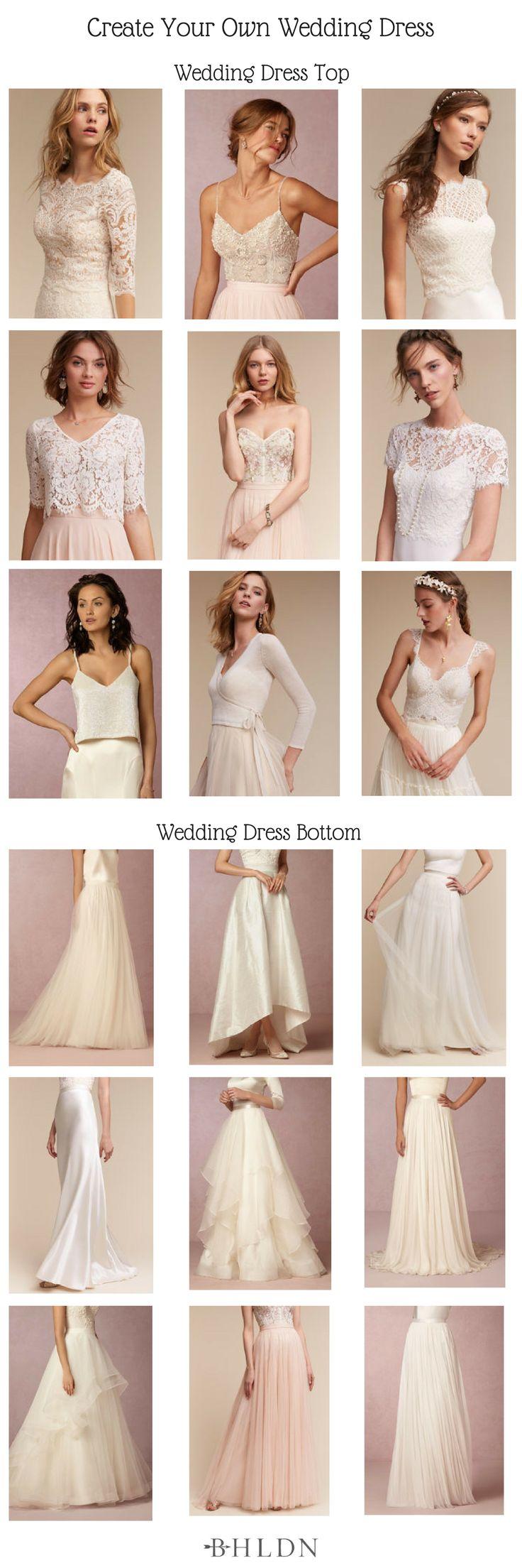 Build Your Own Wedding Dress! BHLDN Wedding Dresshttp://www.mydreamlines.com/2017/04/bhldn-wedding-dress/ #weddingdress