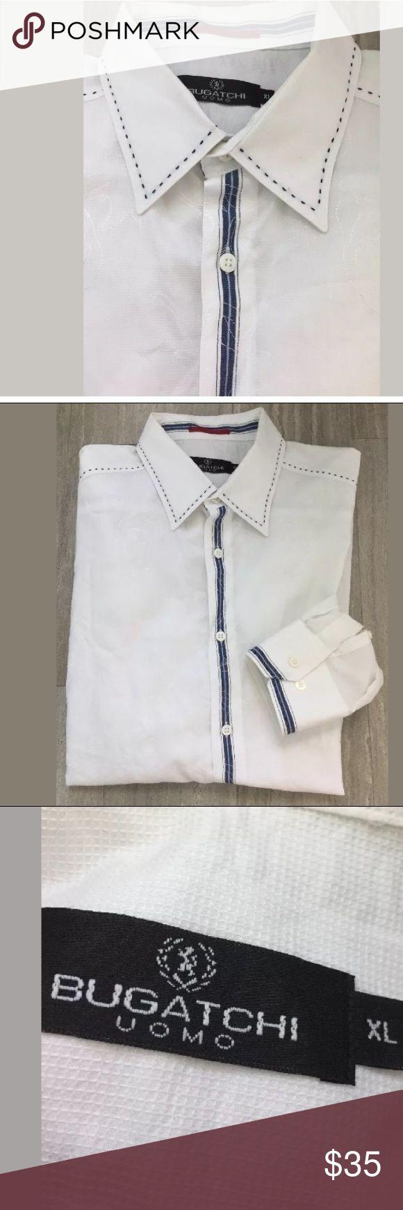 Bugatchi Uomo Xl shirt See last pic for description Bugatchi Shirts Dress Shirts