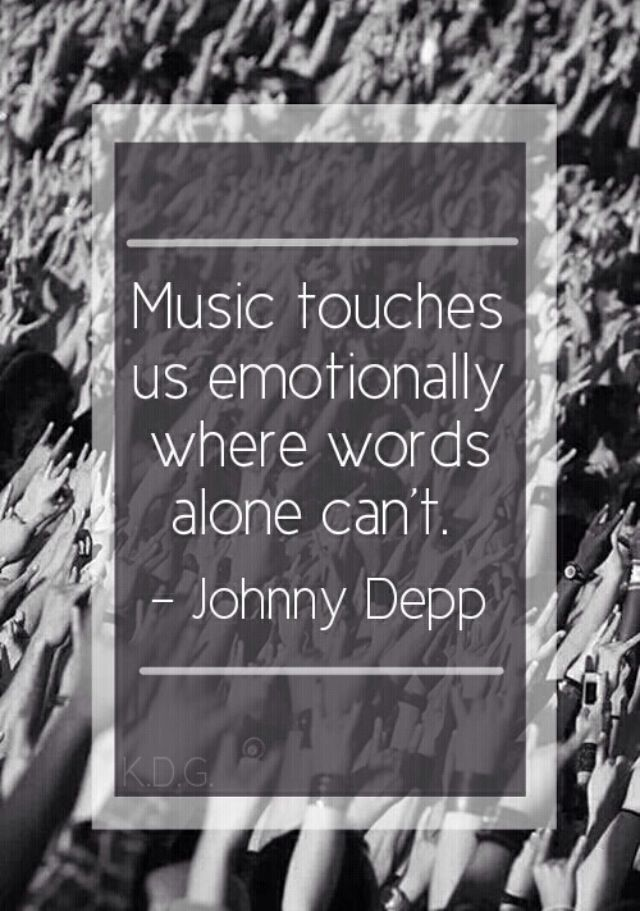 Partly posting because its music and partly because its johnny depp :)